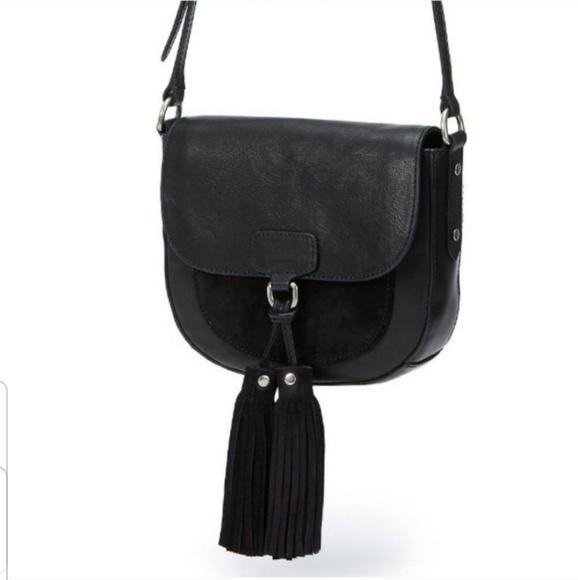 Frye Handbags - SOLD Frye Clara Leather Saddle Bag Crossbody Purse